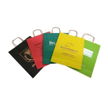 torby papierowe A4 z nadrukiem